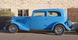 Blue 1934 Ford