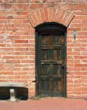 Doorway In Brick Wall 86438