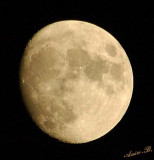 01834 - Almost full moon / Tel-Aviv - Israel
