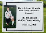 The First Annual Kyle Stang Memorial Scholarship Golf Outing