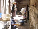 Time to make bread, Ziya amca's wife, Kastamonu