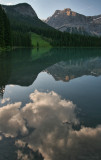 An Emerald Lake Reflection