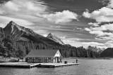 Gone Fishing in Monochrome