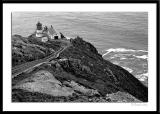 Point Reyes Lighthouse in B&W