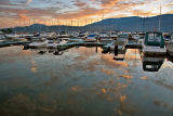 A Yacht Club Sunset