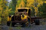 Abandoned Mine Truck