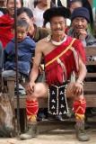 Sangtam Warrior in Tsadang.