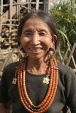 Konyak Naga lady in Wanching.