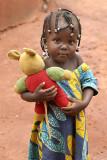 Me and my bunny, Benin.