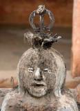 Voodoo. Wife of Egu, the god of war, Togoville.