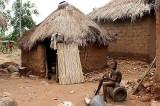 Traditional homestead near Kara, Togo.