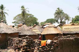 The village Taneka-Beri in the north of Benin.