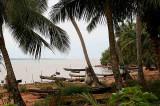 Lake Ahémé near Possotomé, Benin.