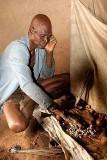 Old voodoo priest in Togo.