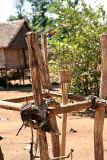 Sacrificial place for the animist Kreung in Kameng village, Cambodia.