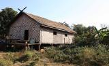 Community house in Nong Leg village, Cambodia.