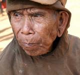 Old Kreung man from Nong Leg village, Cambodia