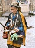 Myoko Priest, Apatani tribe, Arunachal Pradesh