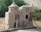 Chicken house in Dhordo