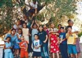 Children of the Home with Sr. Najah
