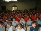 Palestinian Children Watching Presentation