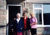Sr. Mary, Sr. Vreni, and Dora from Switzerland - Emmanuel House - 10-2005