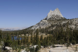 Cathedral Peak and Lakes