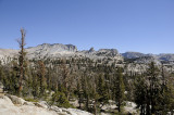 View from the JMT