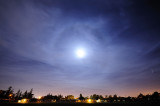 A Frosty Moon Halo
