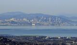 The San Francisco Skyline on a clear day