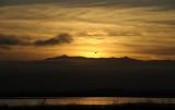 Sunrise over the Diablo range
