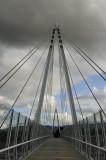 The new Mary Ave Pedestrian Bridge