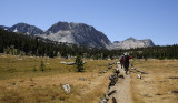 Arriving to the Vogelsang High Sierra Camp