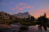 Vogelsang Peak Sunset