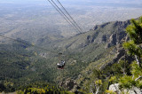 A view of Albuquerque, New Mexico from the Sandia Peak Tram