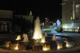 The fountain at Cali Mill Plaza