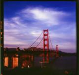Golden Gate Bridge in 120 film