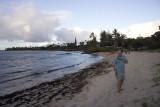 Dave enjoying the beach on Maui
