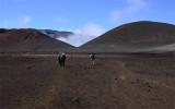 Hiking in Haleakala Volcano