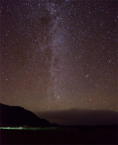 The Milky Way to the North East