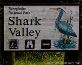 Shark Valley entrance sign