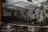 Inside the Endeavour, a reproduction of the ship sailed by Captain Cook