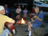 Campfires at the San Suz Ed RV Park and B&B