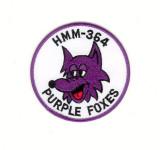 HMM 364  PURPLE FOXES