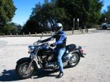 Adya on his Suzuki C90