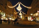 Am Graben: winter illumination