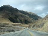 road near lake Dunstan