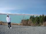 Zakie in Lake Pukaki