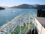 almost arriving to Picton Harbour