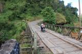 perbaikan jembatan selepas Cisewu